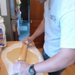 &quot;Isnt it exciting to roll out the dough?&quot; (not really)
