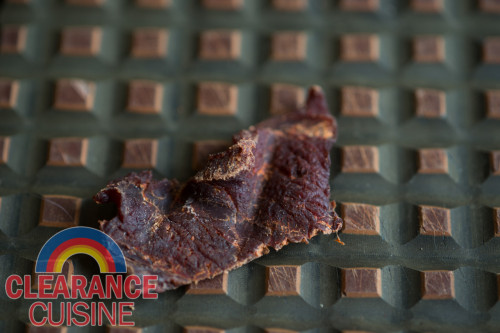 "Exhibit B: The ""daring"" jerky itself."